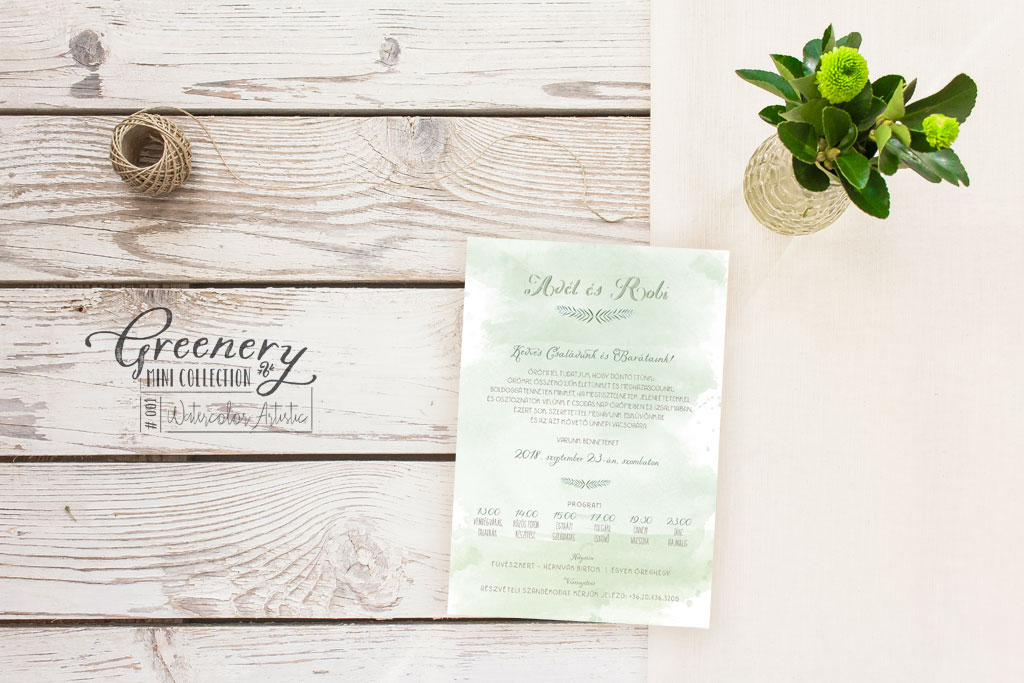 Greenery Mini Collection #001