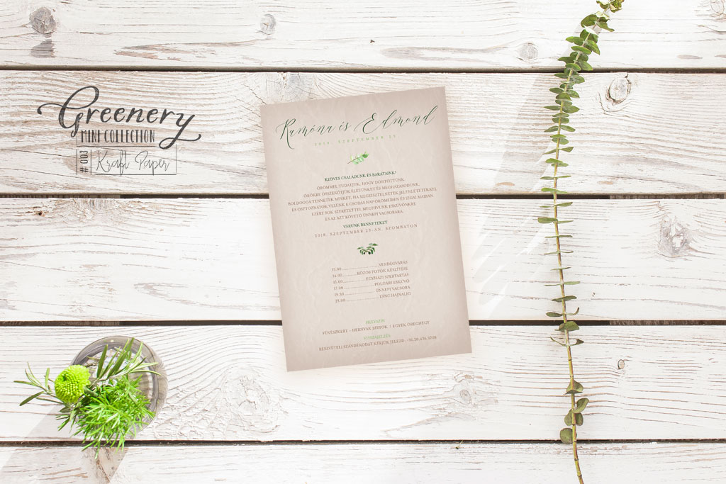 Greenery Mini Collection #003