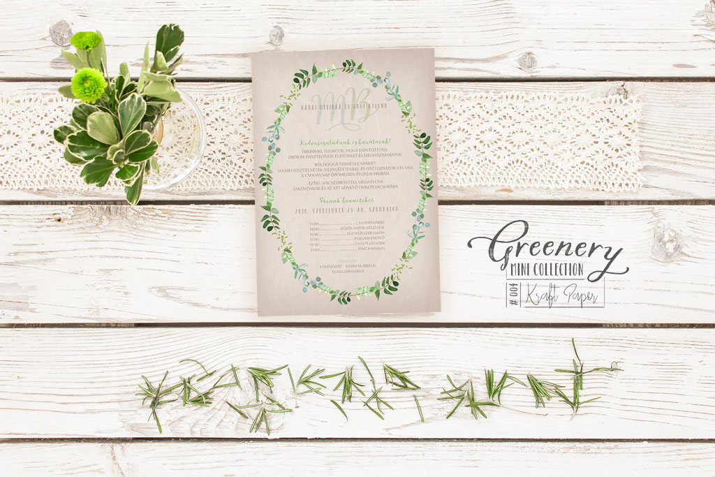 Greenery Mini Collection #004
