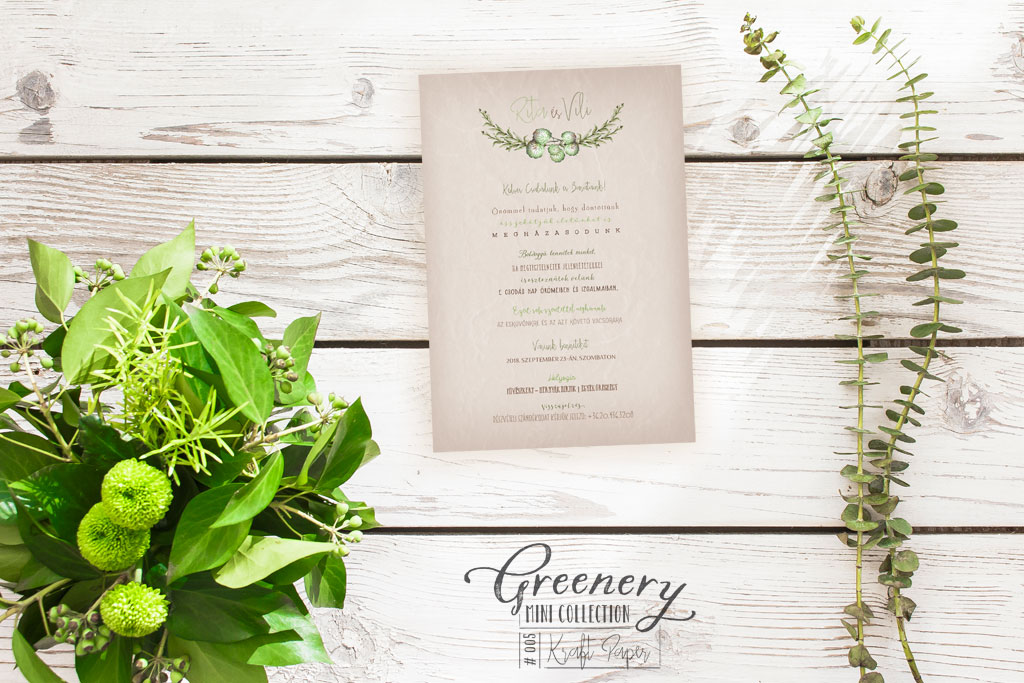Greenery Mini Collection #005