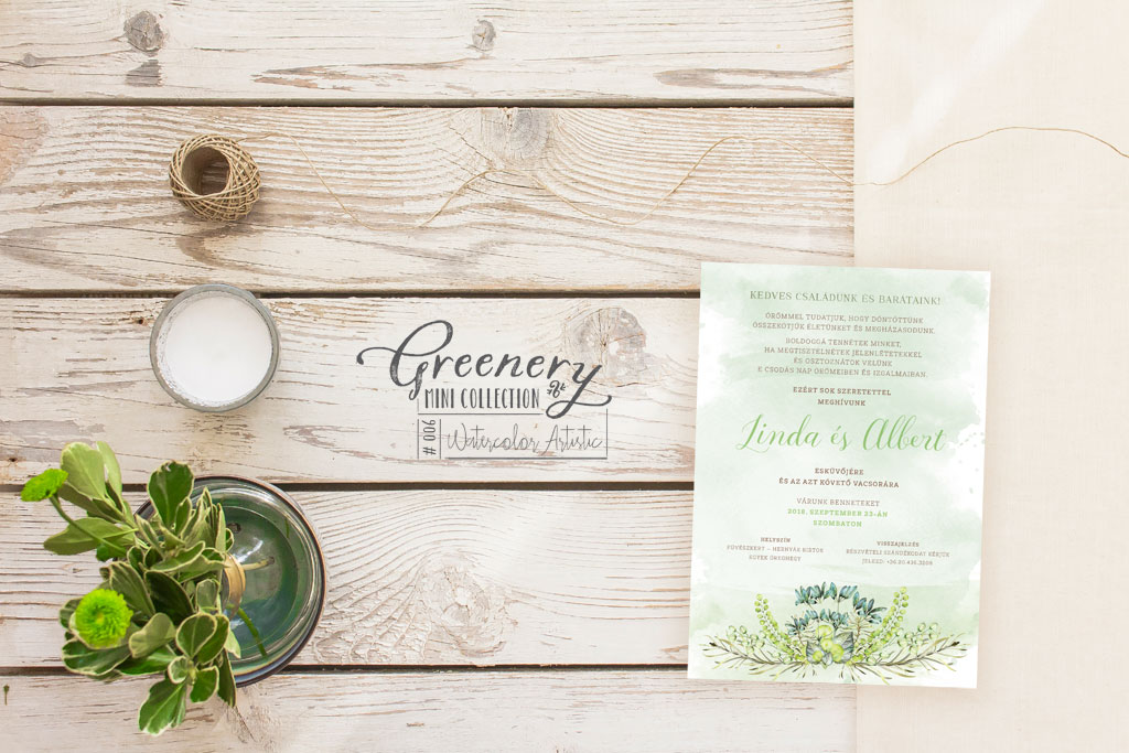 Greenery Mini Collection #006