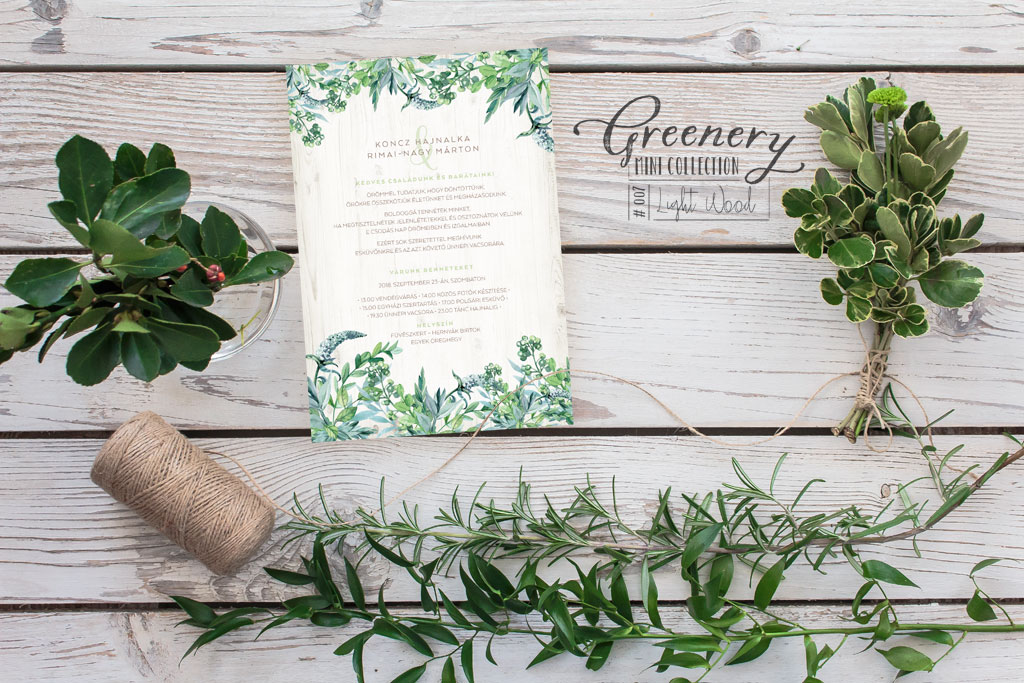 Greenery Mini Collection #007