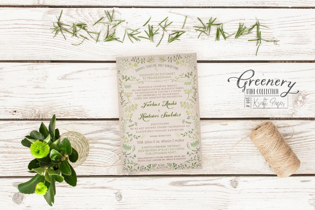 Greenery Mini Collection #008
