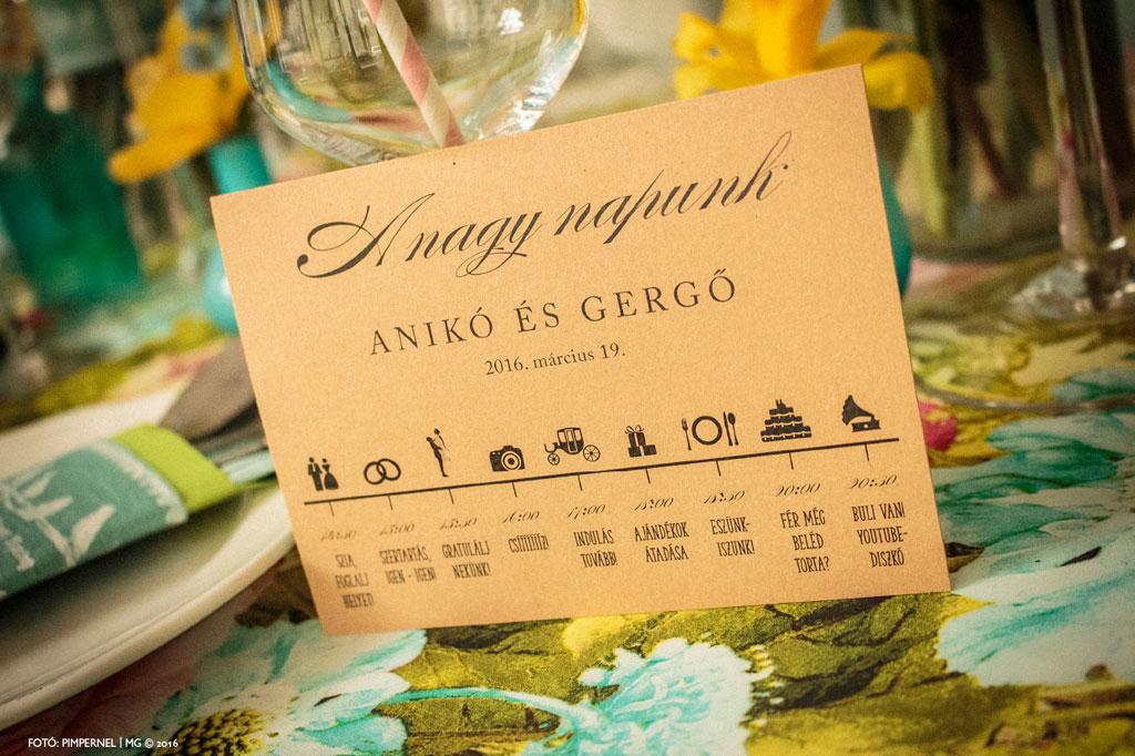 Esküvői meghívó profiktól - Kék Hajtott Piktogram StoryEsküvői meghívó 5928edc2d9