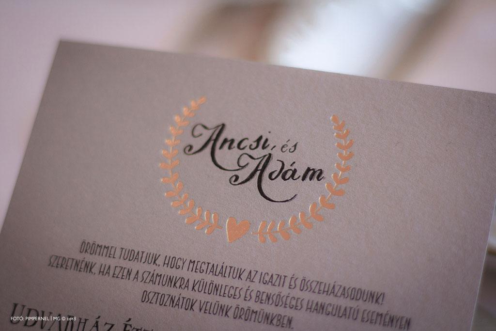 Bay Leaf – Premium Rustic Edition – rusztikus esküvői meghívó