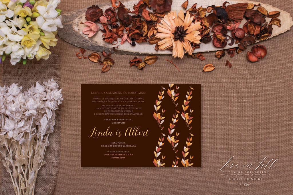 Love In Fall Mini Collection #004