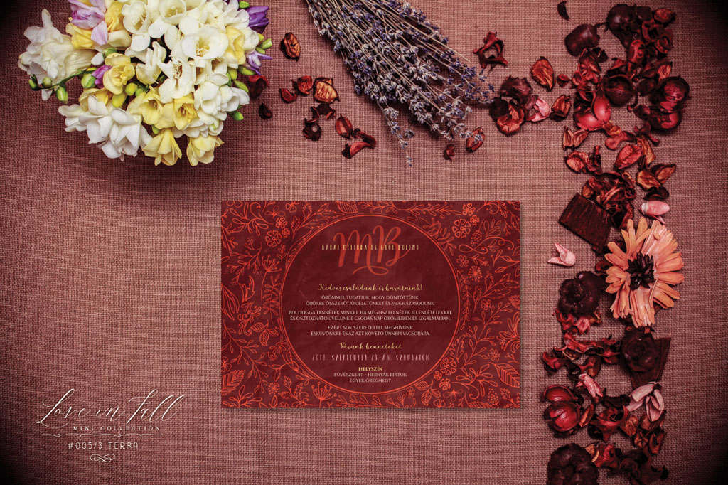 Love In Fall Mini Collection #005