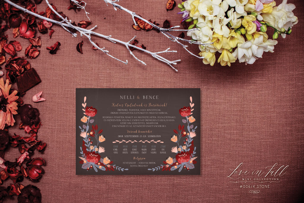 Love In Fall Mini Collection #006