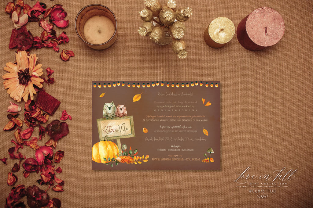 Love In Fall Mini Collection #008