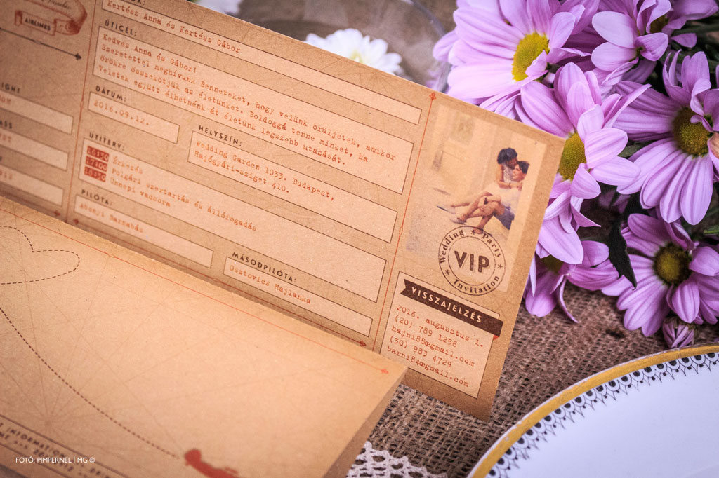 Wedding Airlines Collection – Kraft Edition