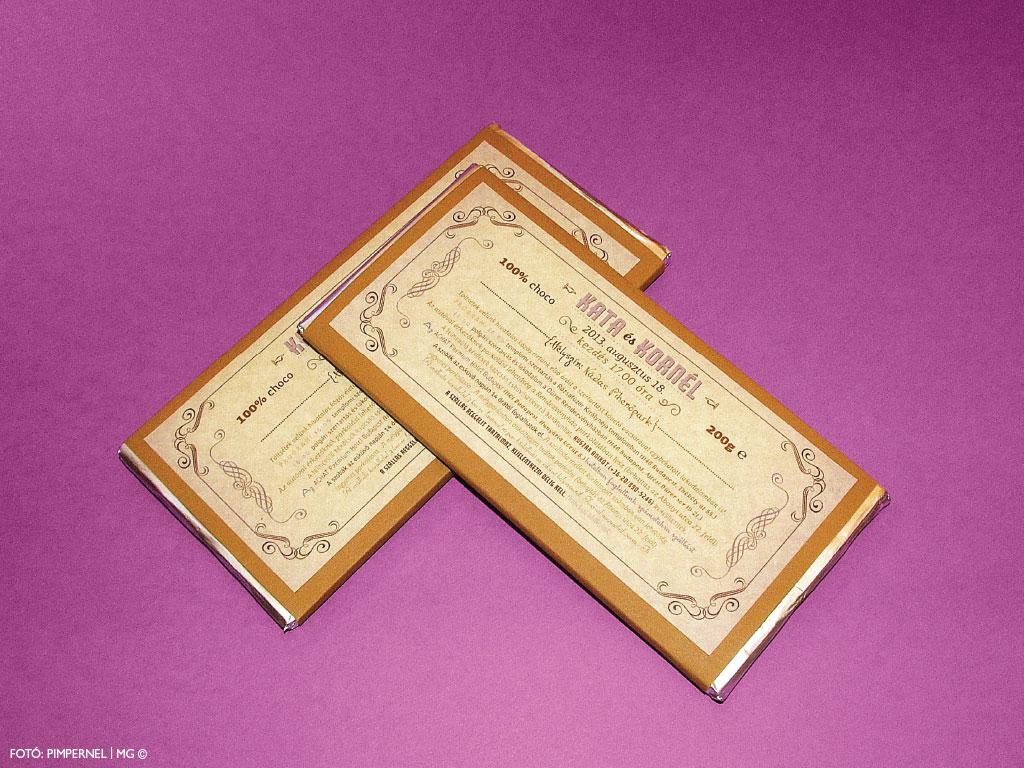 Chocolate Vintage Collection – vintage esküvői meghívó