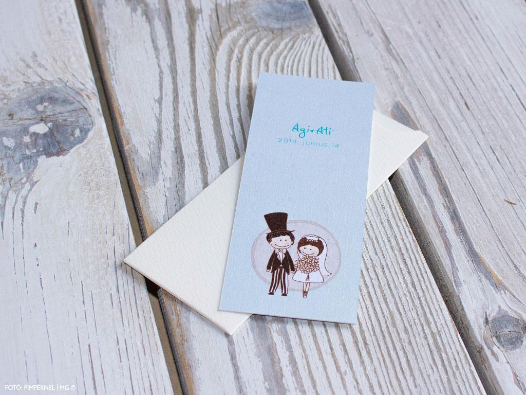 Cutie Couple Collection – esküvői meghívó