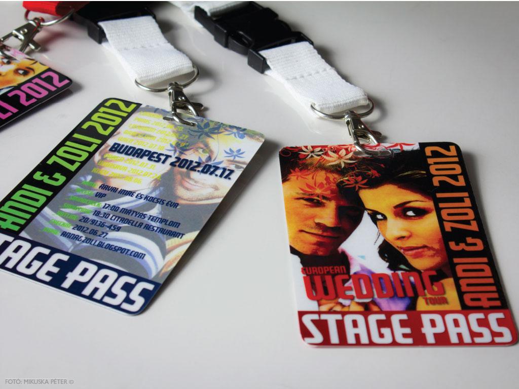Stage Pass Collection – esküvői meghívó