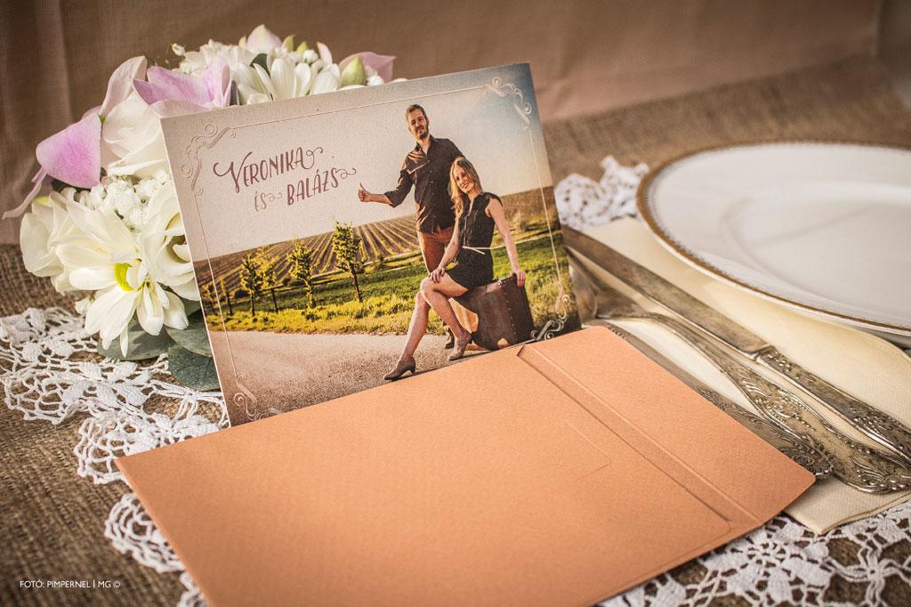Photographed Collection – Fotós esküvői meghívó