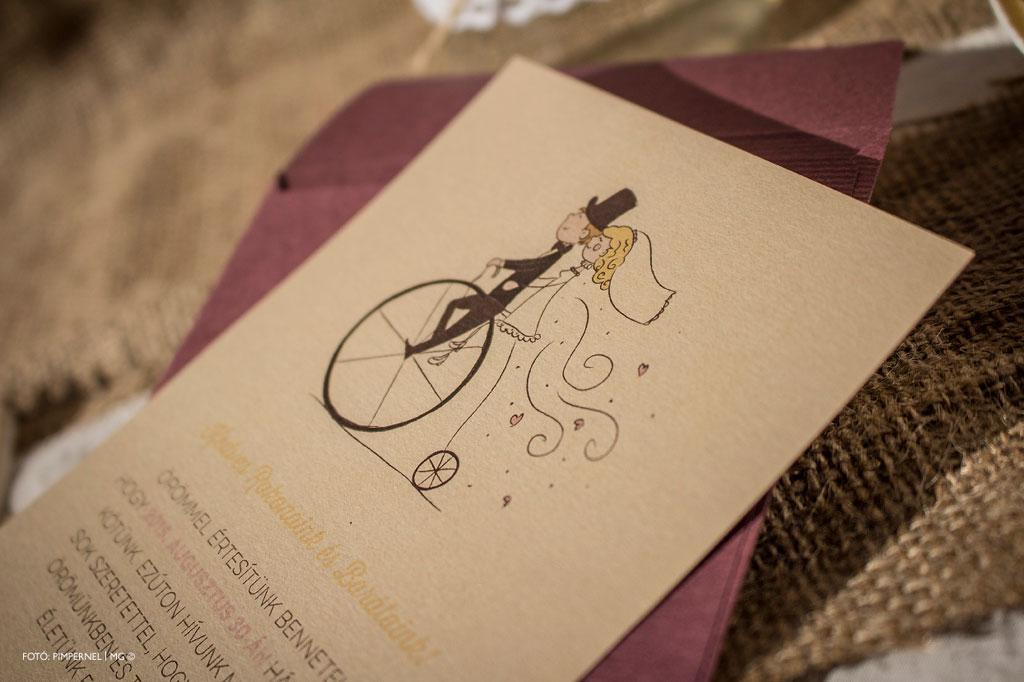Sweet Ride Collection – esküvői meghívó