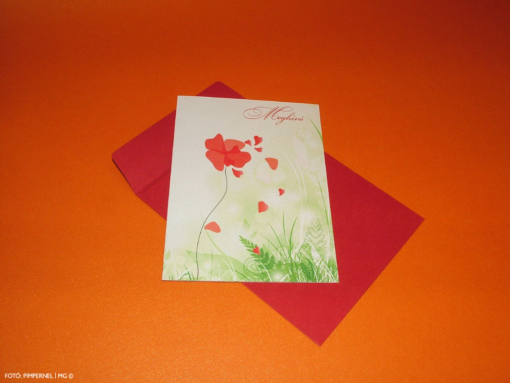 Flowers of Eden Collection – esküvői meghívó