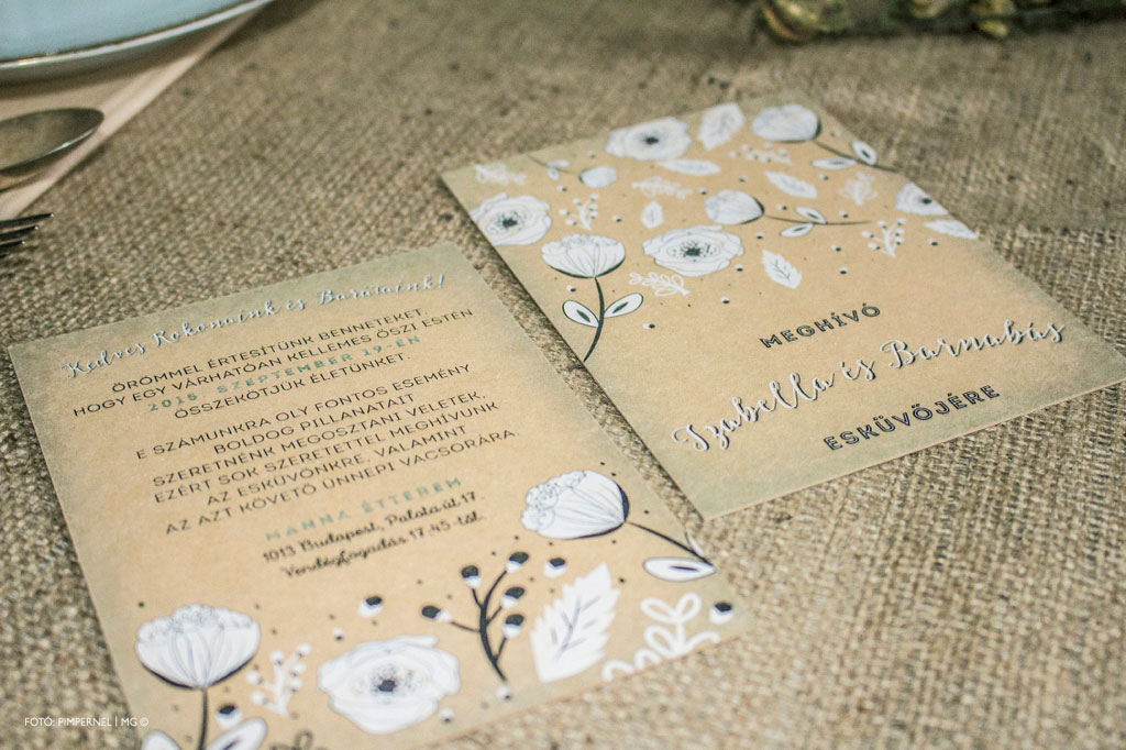 White Flower Kraft Edition Collection