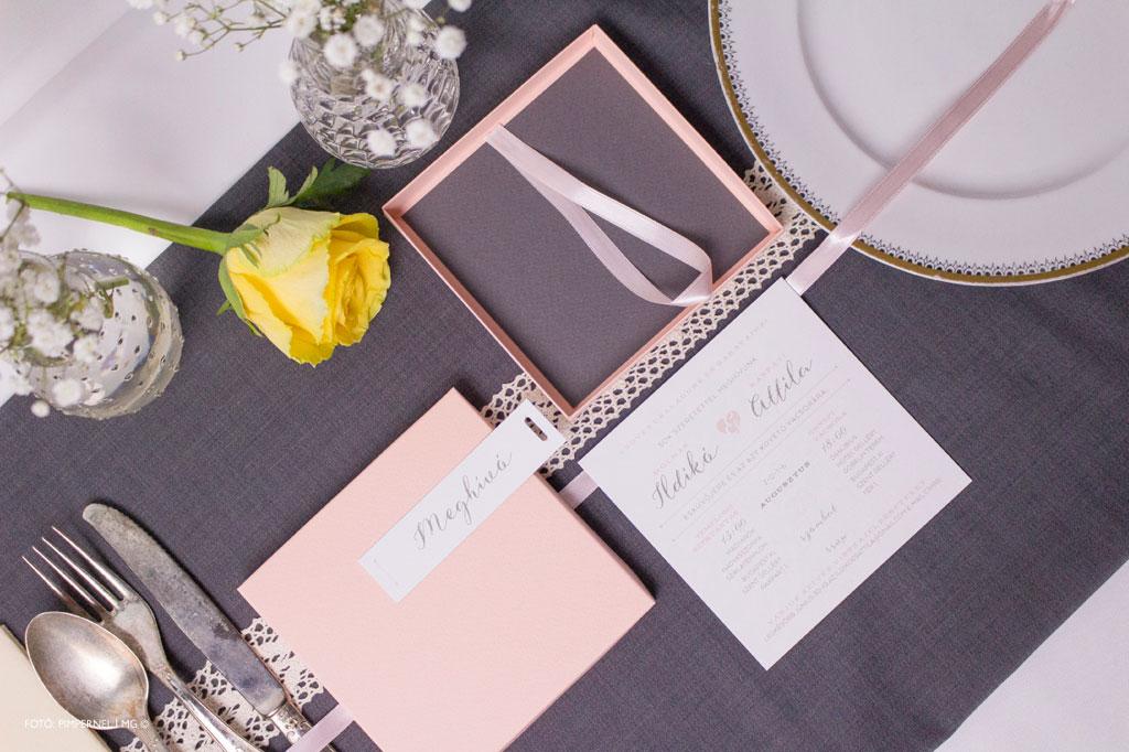Esküvői meghívó profiktól - La Vie En Love CollectionEsküvői meghívó 9fe8dee725