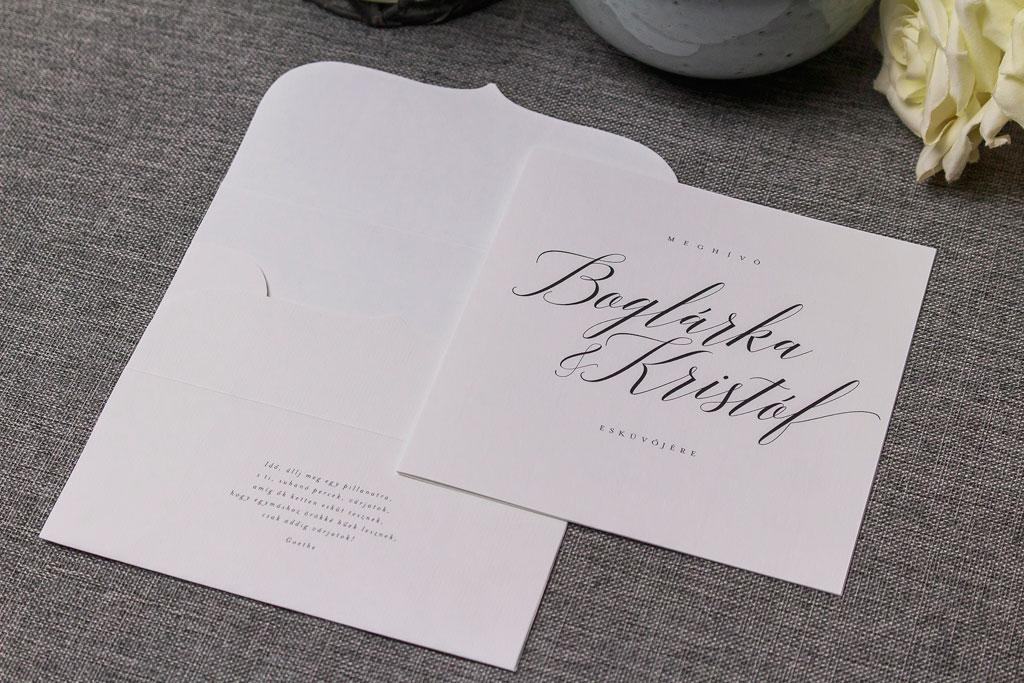 Perfect Match Collection – egyedi borítékos meghívó